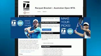 Tennis Channel TV Spot, 'Racquet Bracket: 2018 Australian Open Contest' - Thumbnail 7