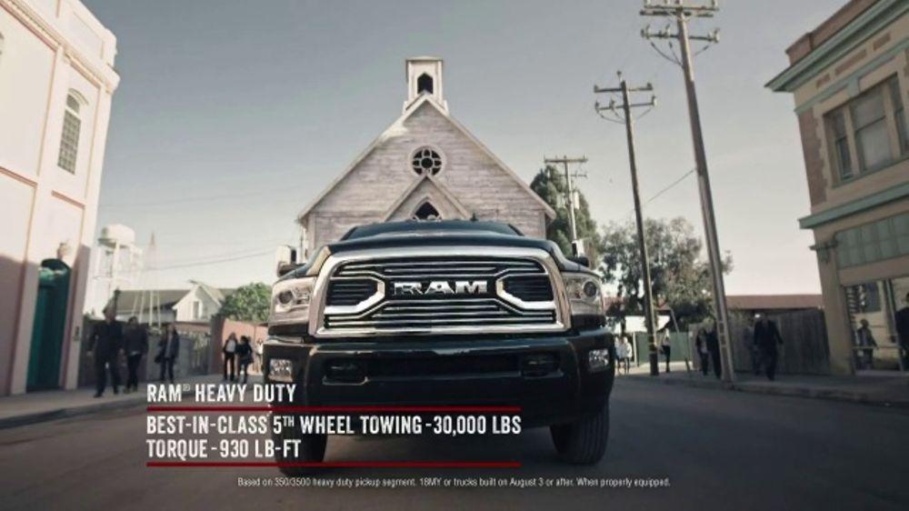Ram Trucks TV Commercial, 'Anthem: Determination' [T2]