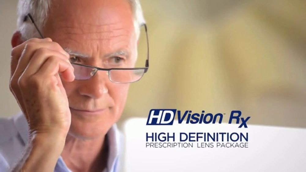 81517f58705 HD Vision Rx TV Commercial