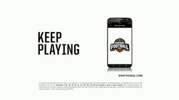 DraftKings 1-Week Fantasy Football TV Spot, 'Seasonitis' - Thumbnail 9