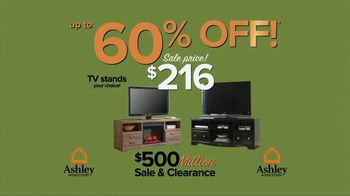 Ashley HomeStore $500 Million Sale & Clearance TV Spot, 'Room for the New' - Thumbnail 4