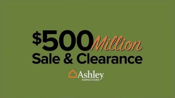 Ashley HomeStore $500 Million Sale & Clearance TV Spot, 'Room for the New' - Thumbnail 7