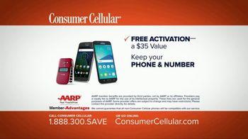 Consumer Cellular TV Spot, 'Change: Plans $15 a Month' - Thumbnail 10
