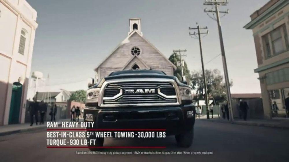 Ram Trucks Start Something New Sales Event TV Commercial, 'Determination' [T2]