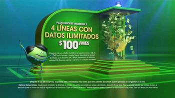 Cricket Wireless Plan Unlimited 2 TV Spot, 'Gana a lo grande' [Spanish] - Thumbnail 3