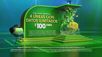 Cricket Wireless Plan Unlimited 2 TV Spot, 'Gana a lo grande' [Spanish] - Thumbnail 5