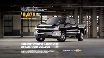 2018 Chevrolet Silverado 1500 TV Spot, 'Increíble' [Spanish] [T2] - Thumbnail 7