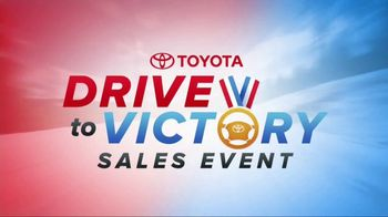 Toyota Drive to Victory Sales Event TV Spot, 'Safety Sense' [T1] - Thumbnail 1