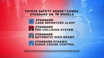 Toyota Drive to Victory Sales Event TV Spot, 'Safety Sense' [T1] - Thumbnail 2