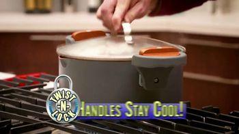 Gotham Steel Pasta Pot TV Spot, 'Perfect Straining: Free Fry Basket' - Thumbnail 3
