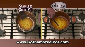 Gotham Steel Pasta Pot TV Spot, 'Perfect Straining: Free Fry Basket' - Thumbnail 5
