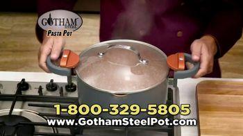Gotham Steel Pasta Pot TV Spot, 'Perfect Straining: Free Fry Basket' - Thumbnail 8