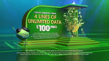 Cricket Wireless Unlimited 2 Plan TV Spot, 'Get Your Win On'