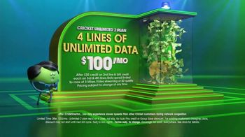 Cricket Wireless Unlimited 2 Plan TV Spot, 'Get Your Win On' - Thumbnail 4