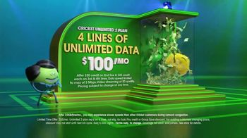 Cricket Wireless Unlimited 2 Plan TV Spot, 'Get Your Win On' - Thumbnail 5