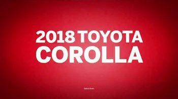 2018 Toyota Corolla TV Spot, 'Safety Sense Standard' [T2] - Thumbnail 2