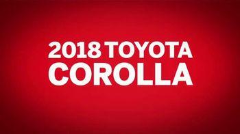 2018 Toyota Corolla TV Spot, 'Safety Sense Standard' [T2] - Thumbnail 8
