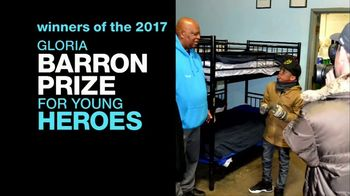 Gloria Barron Prize for Young Heroes TV Spot, '2017 Winners' - Thumbnail 1