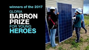 Gloria Barron Prize for Young Heroes TV Spot, '2017 Winners' - Thumbnail 2