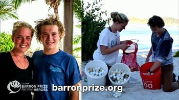 Gloria Barron Prize for Young Heroes TV Spot, '2017 Winners' - Thumbnail 4