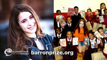 Gloria Barron Prize for Young Heroes TV Spot, '2017 Winners' - Thumbnail 5