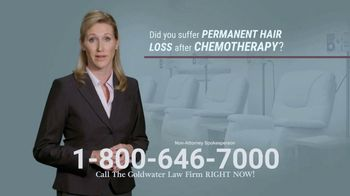 Goldwater Law Firm TV Spot, 'Permanent Hair Loss' - Thumbnail 2
