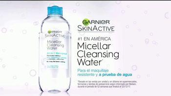 Garnier Micellar Cleansing Water TV Spot, 'Sin frotar duro' [Spanish] - Thumbnail 8