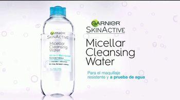 Garnier Micellar Cleansing Water TV Spot, 'Sin frotar duro' [Spanish]