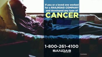 Bandas Law Firm TV Spot, 'Railroad Employees and Cancer' - Thumbnail 2