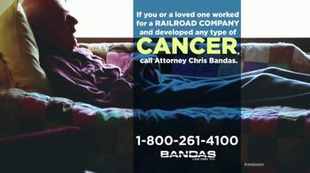 Bandas Law Firm TV Spot, 'Railroad Employees and Cancer' - Thumbnail 3