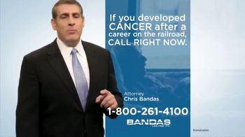Bandas Law Firm TV Spot, 'Railroad Employees and Cancer' - Thumbnail 6