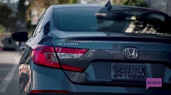 2018 Honda Accord TV Spot, 'Tips From Andy' Ft. Andy Cohen, Jason Kennedy [T1] - Thumbnail 6
