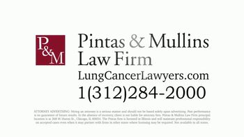 Pintas & Mullins Law Firm TV Spot, 'Lung Cancer Settlements' - Thumbnail 8