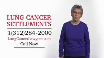 Pintas & Mullins Law Firm TV Spot, 'Lung Cancer Settlements' - Thumbnail 1