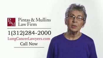 Pintas & Mullins Law Firm TV Spot, 'Lung Cancer Settlements'