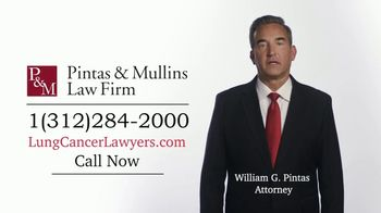 Pintas & Mullins Law Firm TV Spot, 'Lung Cancer Settlements' - Thumbnail 3