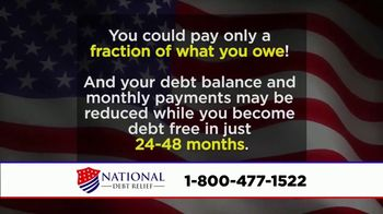 National Debt Relief TV Spot, \'Special Announcement\'