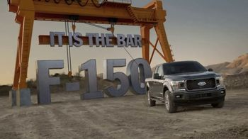 2018 Ford F-150 TV Spot, 'The New 2018 F-150 Rewrites the Truck Laws' - 868 commercial airings