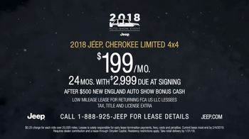 2018 Jeep Auto Show Event TV Spot, 'Photobomb: Cherokee Limited' [T2] - Thumbnail 9