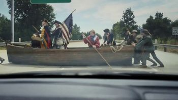 GEICO TV Spot, 'Washington Crossing the Delaware' Feat. Bryan Cranston - Thumbnail 10