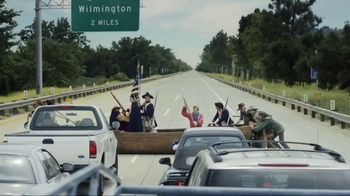 GEICO TV Spot, 'Washington Crossing the Delaware' Feat. Bryan Cranston