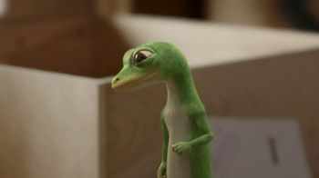 GEICO TV Spot, 'The Gecko Attempts Furniture Assembly' - Thumbnail 1