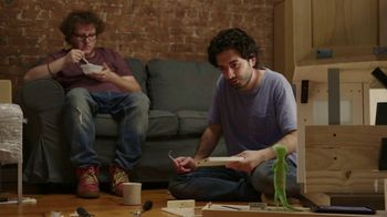 GEICO TV Spot, 'The Gecko Attempts Furniture Assembly'