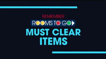 Rooms to Go January Clearance Sale TV Spot, 'The Last Weekend' - Thumbnail 4