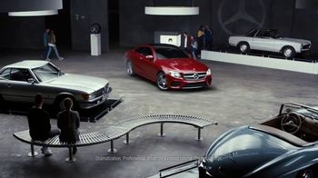 2018 Mercedes-Benz E 300 Sport Sedan TV Spot, 'Powerslide'