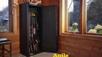SecureIt Agile Model 52 TV Spot, 'Reinventing the Gun Safe: Gun Room' - Thumbnail 5