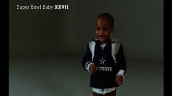 NFL Newborn Fan Club TV Spot, 'Super Bowl Baby XXVII' - Thumbnail 3
