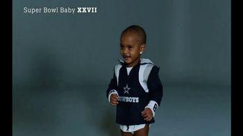 NFL Newborn Fan Club TV Spot, 'Super Bowl Baby XXVII' - Thumbnail 4