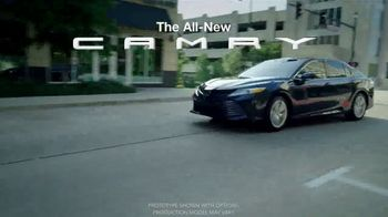 2018 Toyota Camry XLE V6 TV Spot, 'Charity for College Students' [T2] - Thumbnail 2