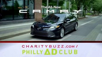 2018 Toyota Camry XLE V6 TV Spot, 'Charity for College Students' [T2] - Thumbnail 7